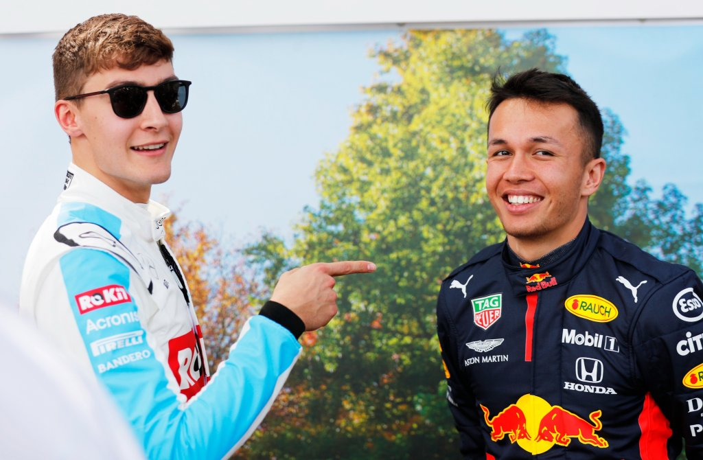 Albon Signs For Williams