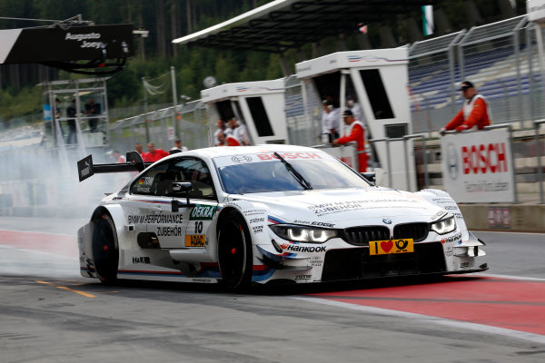 2014 DTM Championship Round 6 - Red Bull Ring, Austria 31st July - 2nd August Martin Tomczyk (GER) BMW Team Schnitzer BMW M4 DTM World Copyright: XPB Images / LAT Photographic  ref: Digital Image 3250643_HiRes
