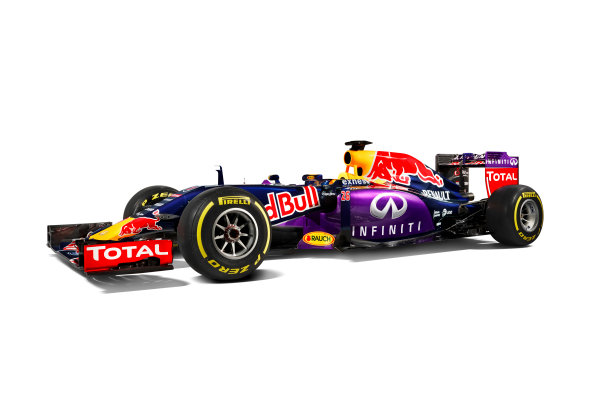 Infiniti Red Bull Racing RB11 Studio Images. Milton Keynes, UK. Sunday 1 March 2015. The Red Bull Racing RB11. Photo: Red Bull Racing (Copyright Free FOR EDITORIAL USE ONLY) ref: Digital Image RB11_LIVERY_13