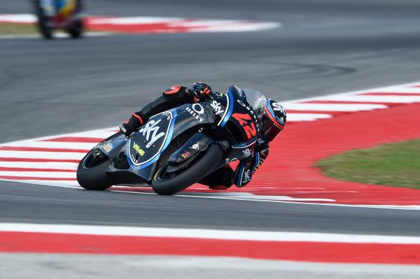 2017 Moto2 Championship - Round 13 Misano, Italy. Friday 8 September 2017 Stefano Manzi, Sky Racing Team VR46 World Copyright: Gold and Goose / LAT Images ref: Digital Image 7488