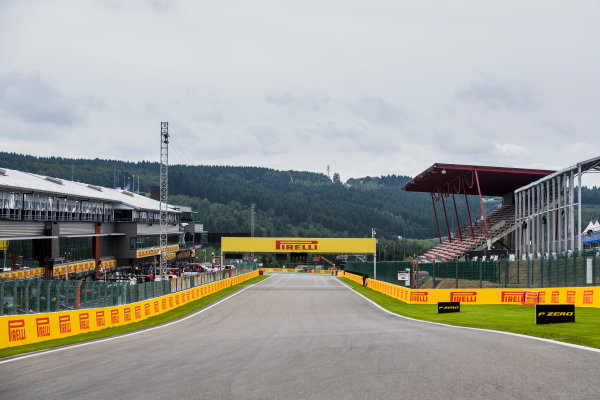 2017 GP3 Series Round 5.  Spa-Francorchamps, Spa, Belgium. Thursday 24 August 2017. A view of the track. Photo: Zak Mauger/GP3 Series Media Service. ref: Digital Image _56I0096