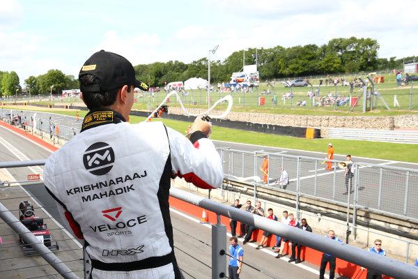 2017 British F3 Championship, Brands Hatch, 5th-6th August 2017, Kris Mahadik (IND) Double R Racing BRDC F3 World Copyright. JEP/LAT Images