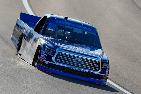 NASCAR Camping World Truck Series Las Vegas 350 Las Vegas Motor Speedway, Las Vegas, NV USA Saturday 30 September 2017 Christopher Bell, DC Solar Toyota Tundra World Copyright: Russell LaBounty LAT Images