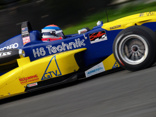 Nathan Antunes (AUS) HS Technik Motorsport, won race 1.Recaro Formel 3 Cup, Rd9, Salzburgring, Austria, 16-17 September 2006.DIGITAL IMAGE