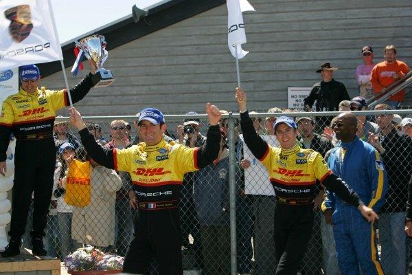Romain Dumas (FRA) / Timo Bernhard (GER) Penske Motorsports won the race. American Le Mans Series, Rd3, Mid-Ohio, USA, 21 May 2006. DIGITAL IMAGE