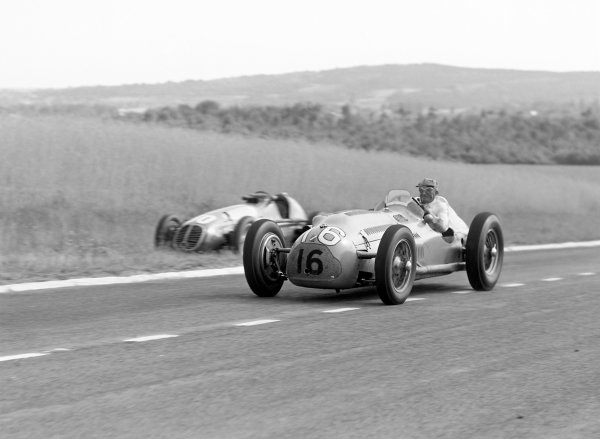 1950 French Grand Prix.Reims-Gueux, France. 2 July 1950.Philippe Etancelin (Lago-Talbot T26C-DA). Ref: B&W negative no. C27331World Copyright: LAT Photographic
