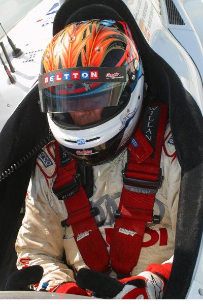 January 31-Feb. 3, 2005, SEBRING INTERNATIONAL RACEWAY J J. LEHTO CHAMPION AUDI R8-2005, GREG ALECK