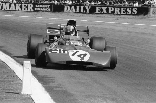1971 British Grand Prix.Silverstone, Great Britain. 17 July 1971.Francois Cevert (Tyrrell 002-Ford Cosworth). Ref-3908 #29.World Copyright - LAT Photographic