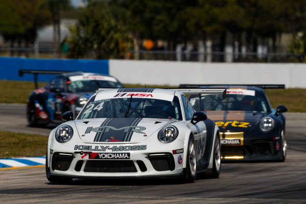 2017 Porsche GT3 Cup USA Sebring International Raceway, Sebring, FL USA Friday 17 March 2017 24, Jake Eidson, GT3P, USA, 2017 Porsche 991 World Copyright: Jake Galstad/LAT Images ref: Digital Image lat-galstad-SIR-0317-14854