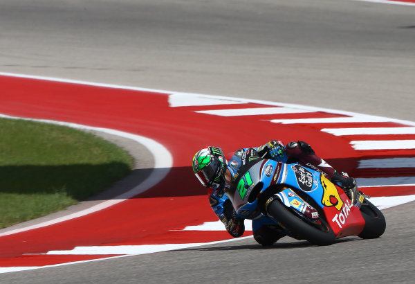 2017 Moto2 Championship - Round 3 Circuit of the Americas, Austin, Texas, USA Friday 21 April 2017 Franco Morbidelli, Marc VDS World Copyright: Gold and Goose Photography/LAT Images ref: Digital Image Moto2-500-2163