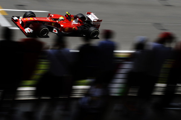 Felipe Massa (BRA) Ferrari F138. Formula One World Championship, Rd5, Spanish Grand Prix, Practice, Barcelona, Spain, Friday 10 May 2013.  BEST IMAGE