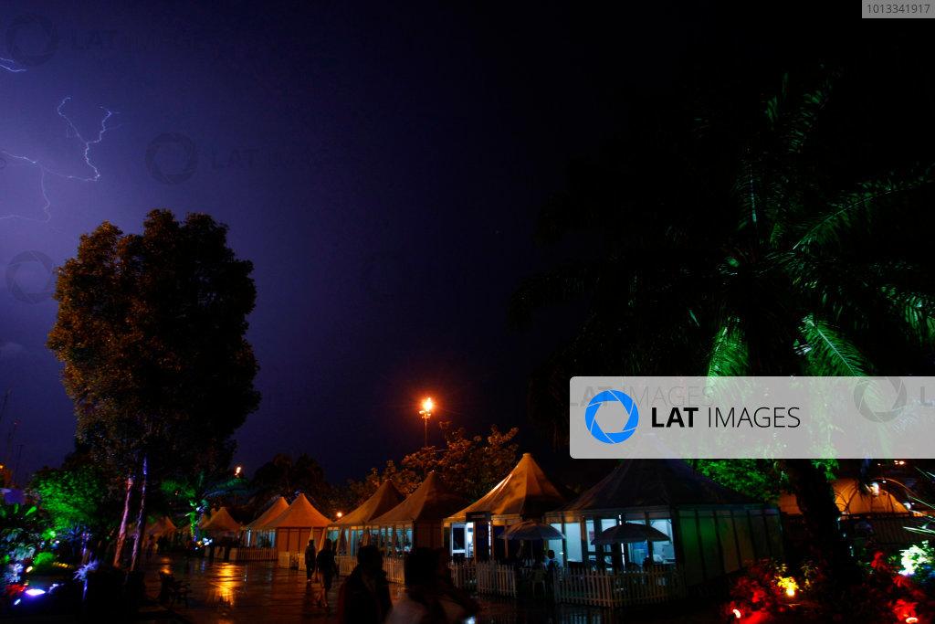Sepang, Kuala Lumpur, Malaysia4th April 2009Atmosphere. World Copyright: Charles Coates/LAT Photographicref: Digital Image _26Y6674