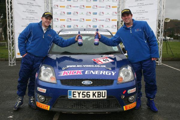Bulldog Rally, Wales 28th March,Matt Edwards/Andy Murphy - Ford Fiesta STWorld Copyright: Ebrey/LAT Photographic