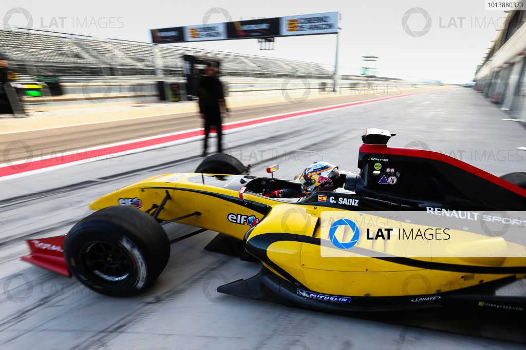 Formula Renault 3.5 Testing