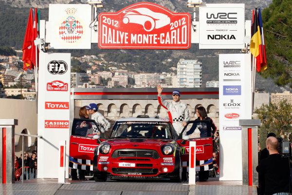 Round 01-Rally Monte Carlo 17-22 January 2012. Dani Sordo, Carlos Del Barrio Corral, Mini WRC, PodiumWorldwide Copyright: McKlein/LAT