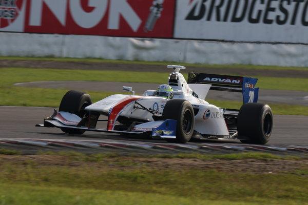2016 Japanese Super Formula. Sugo, Japan. 24th - 25th September 2016. Rd 6. Winner Yuhi Sekiguchi ( #20 ITOCHU ENEX TEAM IMPUL SF14 ) action World Copyright : Yasushi Ishihara/LAT Photographic Ref : 2016SF_Rd6_SUGO_004