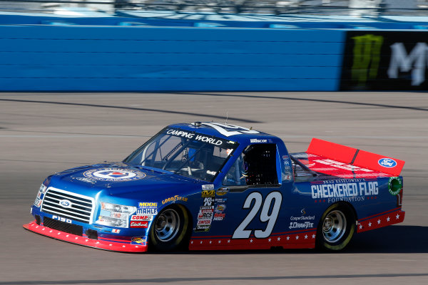 NASCAR Camping World Truck Series  Lucas Oil 150 Phoenix Raceway, Avondale, AZ USA Friday 10 November 2017 Chase Briscoe, Brad Keselowski's Checkered Flag Foundation/Fisher House Foundation Ford F150 World Copyright: Lesley Ann Miller LAT Images