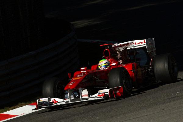 Felipe Massa (BRA) Ferrari F10. Formula One World Championship, Rd 14, Italian Grand Prix, Practice Day, Monza, Italy, Friday 10 September 2010.