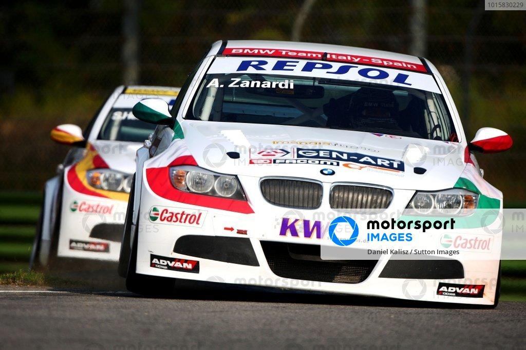 Alessandro Zanardi (ITA), BMW 320si.World Touring Car Championship, Rd10, Imola, Italy, 19-20 September 2009.