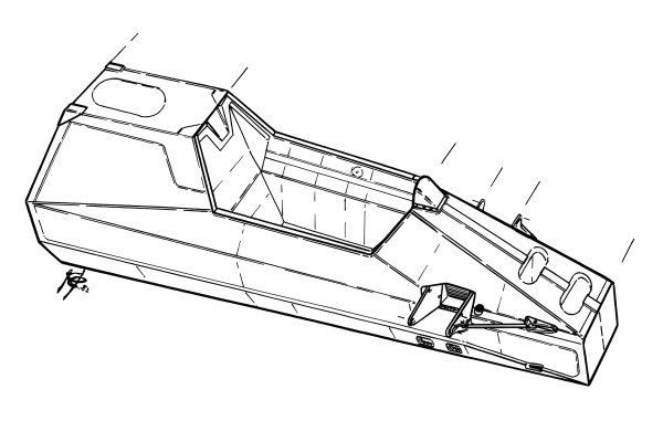 Ferrari 126C2 1982 chassis
