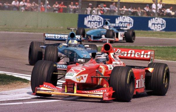 1998 San Marino Grand Prix.Imola, Italy.24-26 April 1998.Heinz-Harald Frentzen (Williams FW20 Mecachrome) 5th position.World Copyright - LAT Photographic