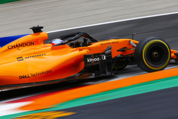 Fernando Alonso, McLaren MCL33 Renault.
