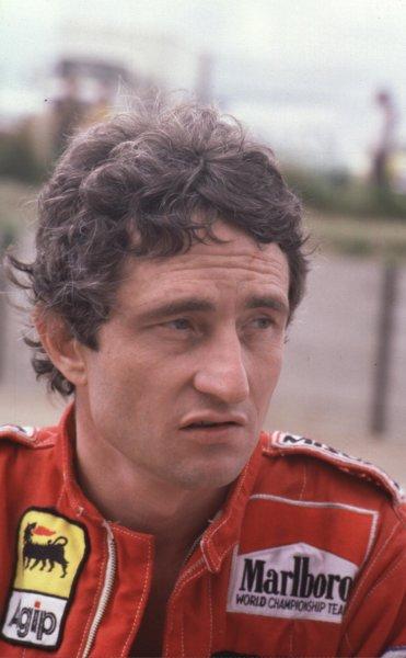 1980 Formula 1 World Championship.Patrick Depailler (Alfa Romeo).Ref-D2A 12.World - LAT Photographic