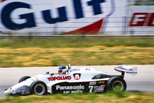 Philippe Streiff, AGS JH19B BMW/Mader.