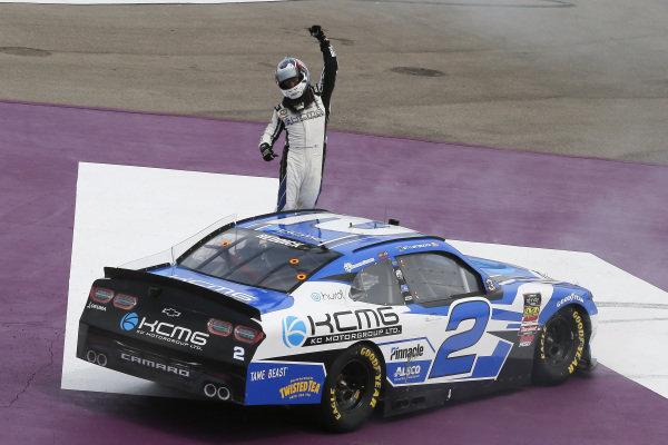 #2: Tyler Reddick, Richard Childress Racing, Chevrolet Camaro KC Motorgroup celebrates his win