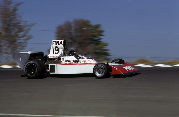 Helmuth (Also spelt Helmut) Koinigg (AUT) was tragically killed - in only his second GP start - when his Surtees TS16/3 went off at a corner on lap 10 and ploughed through the steel guardrail at undiminished speed.United States Grand Prix, Watkins Glen, 6 October 1974.BEST IMAGE