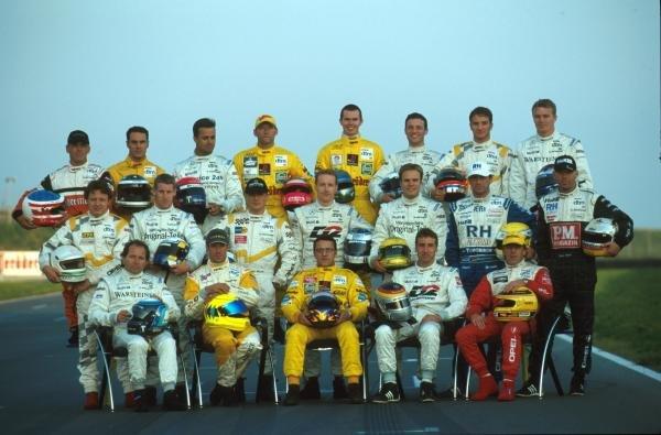 The class of 2000DTM Championship - Oschersleben, Germany, 23-24 September2000