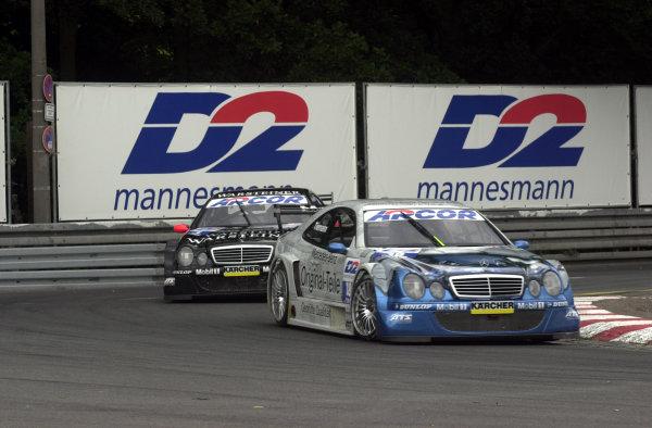 DTM Norisring 2000.Norisring, Germany. 7th - 9th July 2000.Marcel TiemannWorld - Hardwick / LAT Photographic