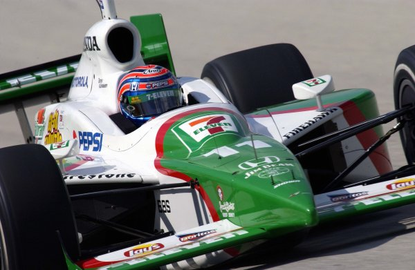 2003 IRL IndyCar Homestead, 2/28-3/2,2003, Homestead-Miami Speedway, USA Tony Kanaan.World Copyright-F Peirce Williams 2003 LAT Photographicref: Digital Image Only