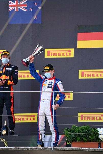 David Beckmann (DEU, TRIDENT), 2nd position, on the podium