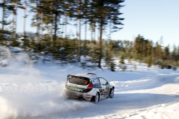 Round 01-Rally Sweden. 10th-13th February 2011.Mads Ostberg, Ford WRC, Action.Worldwide Copyright: McKlein/LAT