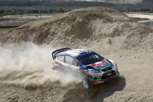 Round 04 Rally Jordan. 14th-16th April 2011.Jar-Matti Latvala, Ford WRC, Action.Worldwide Copyright: McKlein/LAT