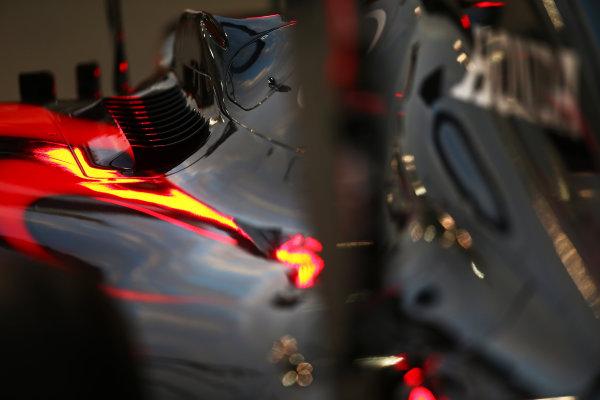 Yas Marina Circuit, Abu Dhabi, United Arab Emirates. Thursday 26 November 2015. Body work of the McLaren MP4-30 Honda. World Copyright: Charles Coates/LAT Photographic ref: Digital Image DXI26488