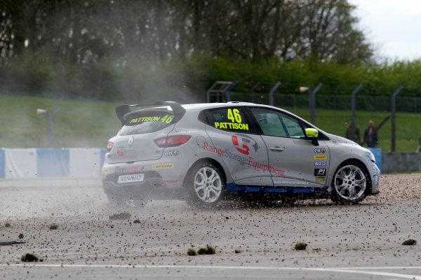 2016 Renault Clio Cup, Donington Park, 16th-17th April 2016, Lee Pattison (GBR) Team Cooksport Renault Clio CUp  World copyright. Jakob Ebrey/LAT Photographic