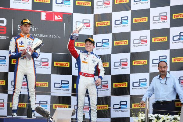 2015 GP3 Series Round 8. Bahrain International Circuit, Bahrain Saturday 21 November 2015. Matthew Parry (GBR, Koiranen GP)  Photo: Jakob Ebrey/GP3 Series Media Service. ref: Digital Image AD8T0057