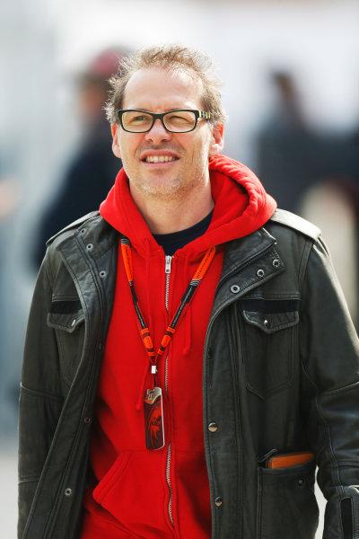Shanghai International Circuit, Shanghai, China. Friday 10 April 2015. Jacques Villeneuve. World Copyright: Alastair Staley/LAT Photographic. ref: Digital Image _79P2387
