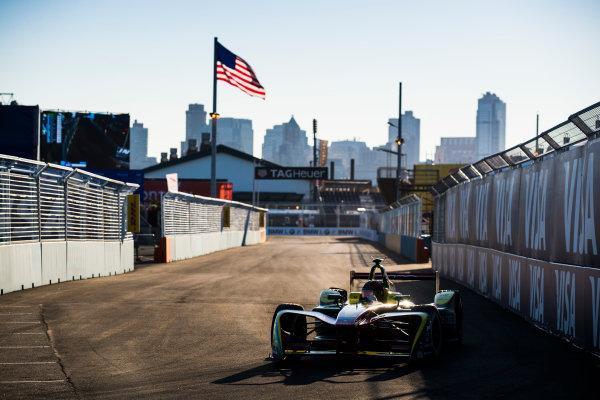 2016/2017 FIA Formula E Championship. Round 10 - New York City ePrix, Brooklyn, New York, USA. Sunday 16 July 2017. Daniel Abt (GER), ABT Schaeffler Audi Sport, Spark-Abt Sportsline, ABT Schaeffler FE02. Photo: Sam Bloxham/LAT/Formula E ref: Digital Image _J6I4154