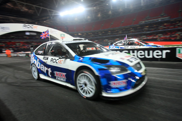 Wembley Stadium, London. 