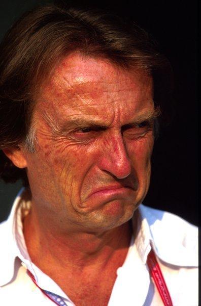 Luca di Montezemolo (ITA) Ferrari Chariman and Managing Director. Italian Grand Prix, Rd.15, Monza, Italy. 15 September 2002. BEST IMAGE