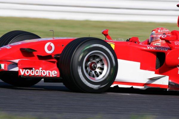 2006 Japanese Grand Prix - Sunday Race,  Suzuka, Japan. Michael Schumacher, Ferrari 248F1, retired, action. 8th October 2006  World Copyright: Steve Etherington/LAT Photographic  ref: 48mb Hi Res Digital Image Only