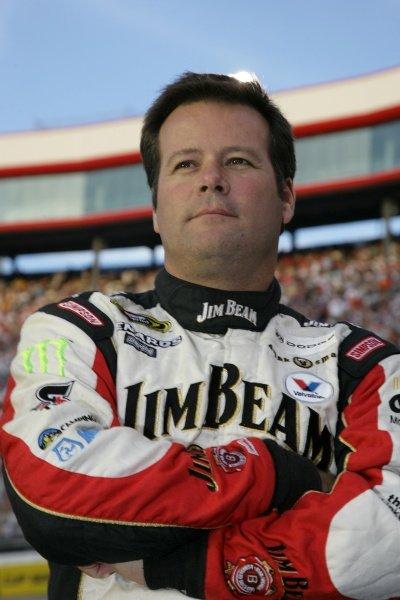Robby Gordon (USA) Robby Gorden Dodge. Sharpie 500, Bristol Motor Speedway, Tennessee, USA, 22-24 August 2008.