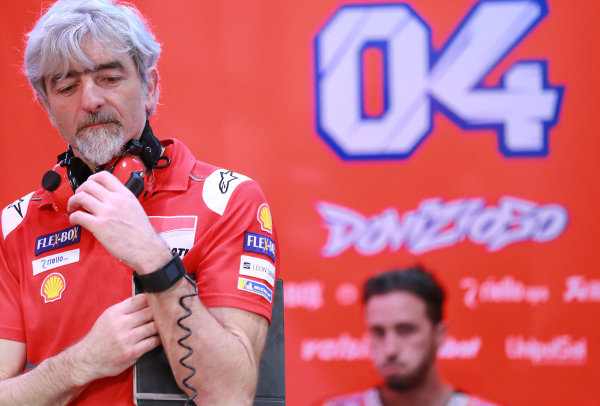 2018 MotoGP Championship - Qatar testing Losail, Qatar. Thursday 1 March 2018 Gigi Dall'Igna, Ducati Team General Manager World Copyright: Gold and Goose / LAT Images ref: Digital Image 711815