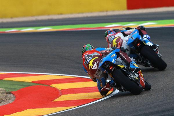 2017 Moto2 Championship - Round 14 Aragon, Spain. Friday 22 September 2017 Franco Morbidelli, Marc VDS World Copyright: Gold and Goose / LAT Images ref: Digital Image 693606
