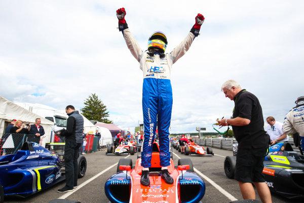 2017 British F4 Championship,  Snetterton. 29th-30th July 2017, Oscar Piastri (AUS) TRS Arden British F4 World copyright. JEP/LAT Photographic