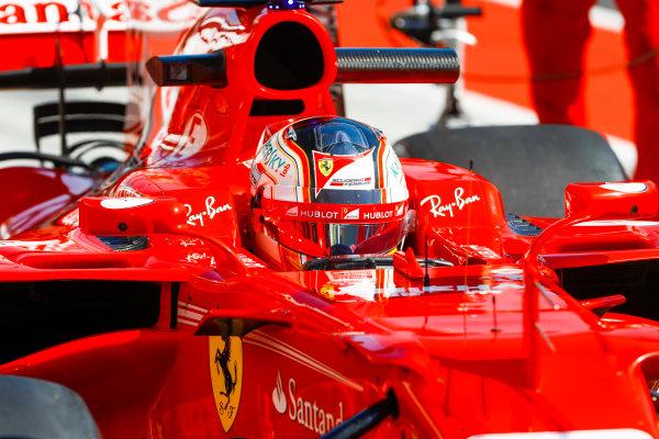 Hungaroring, Budapest, Hungary.  Tuesday 01 August 2017. Charles Leclerc, Ferrari SF70H. World Copyright: Joe Portlock/LAT Images  ref: Digital Image _R3I2047