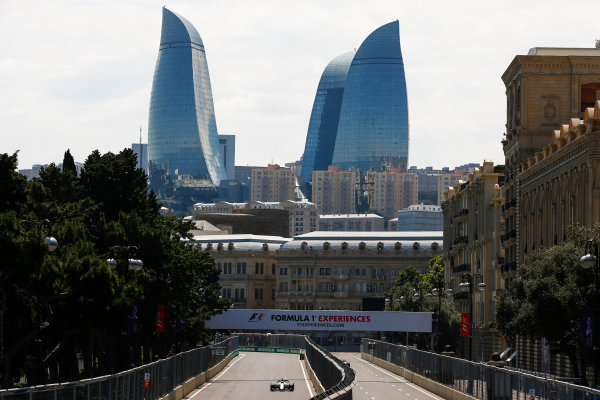 Baku City Circuit, Baku, Azerbaijan. Friday 23 June 2017. Felipe Massa, Williams FW40 Mercedes. World Copyright: Andrew Hone/LAT Images ref: Digital Image _ONY8302